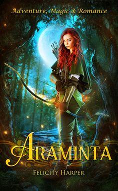 Araminta, by Felicity Harper; cover by Moonchild-ljilja (Ljiljana Romanovic).