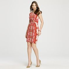 Anne Klein: Sale > Dresses > Jersey Dress With Bar Embellishment.