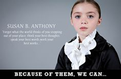 Little Girls Dress Up As Iconic Figures In Women's History