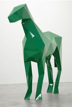 horse power / Xavier Veilhan: The Horse (2009).