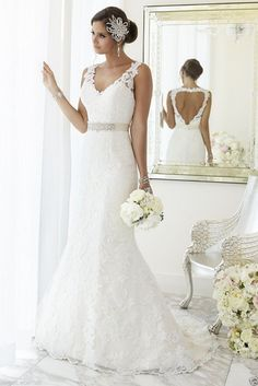 Sexy White/Ivory Lace Wedding dress Bridal Gown custom Size 6 8 10 12 14++