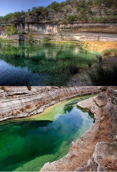 A beautiful swimming spot...Blue Hole, Leakey, Texas