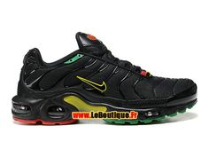 best loved d15f6 92947 Nike Air Max Tn Tuned Requin 2015 - Chaussures Nike Sportswear Pas Cher  Pour Homme Noir Jaune Vert Rouge 604133-201