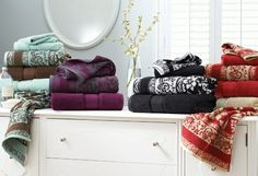 Choose your favorite color combination in our Thick & Plush Jacquard + mix it up with solid hues
