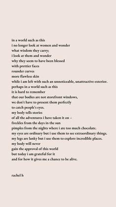 Grateful | Poem by Rachel H