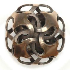Rhombic Dodecahedron I by Vladimir Bulatov,, via Flickr