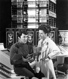 James Darren as Dr. Tony Newman and Lee Meriwether as Dr. Ann MacGregor.
