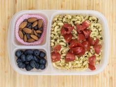 Lunch Box Ideas - Pesto Pasta Lunch Box