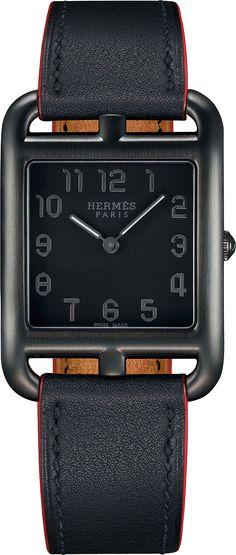 La Cote des Montres : La montre Hermès Cap Code Shadow - Un style qui n'aime rien tant que la liberté