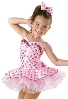 Weissman™ | Satin Sequin Tutu Dance Dress