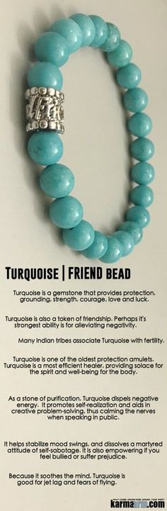 #BEADED #Yoga #BRACELETS ♛ turquoise is a #gemstone that provides #protection, grounding, strength, #courage, love and luck. #turquoise is a token of #friendship. many #indian #tribes associate #turquoise with #fertility.  #Chakra #gifts #Stretch #Womens http://kundaliniyogameditation.com/
