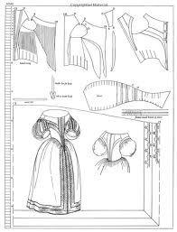 17th century dress patterns - Google Search