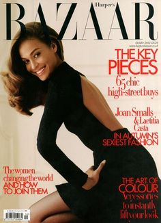 DYYYYYYYYIIIIIING over our DKNY Bazaar UK cover on Joan Smalls! That @JenniferBAZAAR Jenny