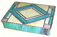 glasses jewelry boxes | Stained Glass Jewelry Boxes - Hearts, Judaica, Irish, Celtic & More