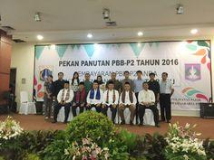 Para Wajib Pajak UPPD Duren Sawit beserta jajaran Pejabat Dinas Pelayanan Pajak pada acara Pekan Panutan PBB-P2 Tahun 2016