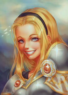 Lux Portrait by Valkymie.deviantart.com on @DeviantArt