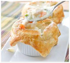 Individual Chicken Potpie recipe