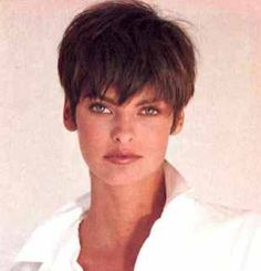 My next haircut, I'm going for it ... short, short, short!  (80's model Linda Evangelista.  The style is timeless.)