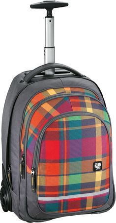 All Out Bolton Trolley Rucksack Woody Orange