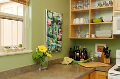 Tropical Kitchen by Natalie Younger Interior Design, Allied ASID