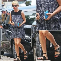 Michelle Williams Loves Her Greek Sandals — Quite Frankly, We Do Too