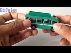 Kids love to crash toy cars | Tomica Toy Car | Mobile Rescue Bus | Toyot...