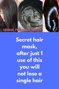Secret hair mask, after just 1 use of this you will not lose a single hair We all know benefits of henna for air, it is used as natural hair dye to get dark brown hair color but do you know aprat from hair coloring you can use hennna to reduce hair fall and rapid hair growth also. Today I will tell you how can you prepare anti hair fall mask …