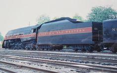 Norfolk & Western 611 Steam Train Engine & Tender near Roanoke, Virginia in 1993 by D. Canary