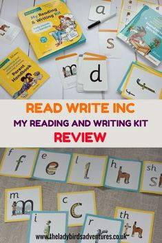 Read Write Inc. My reading and writing kit. Early sounds and blending review. See how this kit can help you support your 3-5 year old to learn phonics. #phonics #phonicsreading #primaryschool Read Write Inc Phonics, Phonics Books, Phonics Reading, Science Activities, Writing Activities, Spring Activities, Learning Through Play, Kids Learning, Blending Sounds