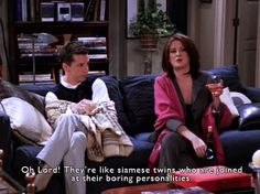 """Just telling it like it is… probably about Will and Grace. 