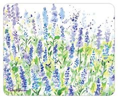 """Mouse Pad """"Lavender Fields"""" by pattysgardenstudio by pattysgardenstudio on Etsy"""