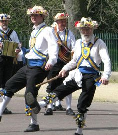 MORRIS DANCERS by bikerchick2009, via Flickr