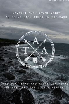 Never Alone//The Amity Affliction