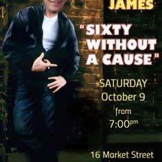 40 without a cause....become James Dean for your next birthday. Rebel without a cause movie spoof invitation