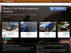 Getaround - Car sharing site