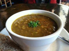 Curry Lentil Soup - Sage Veg Cafe