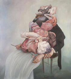 © Oda Jaune, Untitled, huile sur toile, 170×190 cm, 2011