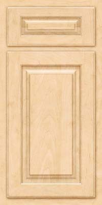 KraftMaid Cabinets -Square Raised Panel - Solid (TWSM) Maple in Natural from waybuild