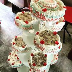 Big Flower Wedding Cake - Europa Dessert Bar #cakes #cake #cakestagram #cakeshop #wedding #weddingcake #weddingcakesideas #weddingcakes #weddingcakerock #weddingflowercake #weddingflowercakes #flowercake #flowercakes #flowercakeclass #vanillacake #colorcake #colorcakes #sweetcake #sweetcakes #specialcakes #towercakes