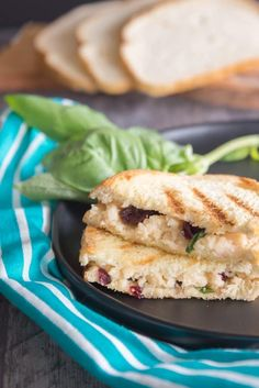 This cranberry grilled cheese is a festive twist on a classic crowd-pleaser. Its packed with flavor from creamy manchego cheese dried cranberries and sourdough bread. Plus its easy to make in under 15 minutes! Vegetarian Christmas Recipes, Easy Holiday Recipes, Vegetarian Recipes Dinner, Vegan Recipes, Dinner Recipes, Appetizer Recipes, Dessert Recipes, Manchego Cheese, Sourdough Bread