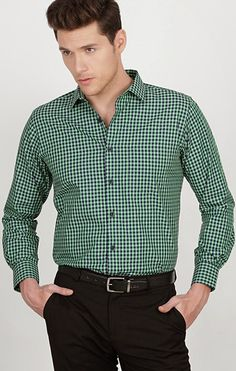 11 Best Formal Shirts for Men to wear in Summer - LooksGud. Formal Shirts For Men, Men Formal, Casual Shirts, Check Shirt Man, Mens Kurta Designs, Mens Attire, Business Outfit, Mens Fashion Suits, Menswear