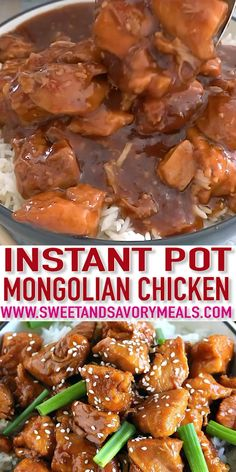 Instant pot recipes 329677635224059087 - Instant Pot Mongolian Chicken takes just five minutes to throw into the pressure cooker, and only 30 minutes to cook a flavorful, tender and juicy chicken! Source by aurore_maeva Pressure Cooker Chicken, Instant Pot Pressure Cooker, Pressure Cooker Recipes, Healthy Chicken Recipes, Asian Recipes, Beef Recipes, Cooking Recipes, Garlic Chicken Recipes, Cooking Food
