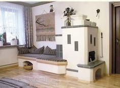 kachelofen modern - Google keresés Haacke Haus, Cordwood Homes, Stair Shelves, Living Room Decor, Living Spaces, Rocket Stoves, Cozy Corner, Design Case, Architecture Design