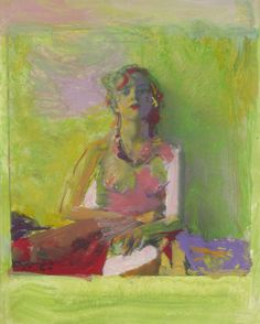 """Saul Leiter """"Painted Nude"""""""
