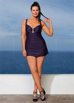 alla miracle swimsuit, $99.95 aud from ts14+ | plus size fashion