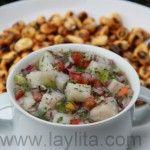 Mafi's ceviche de pescado  or fish ceviche