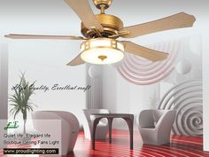 Welcome to Proud Lighting Technology Co. We have a large varies ceiling fans to suit all tastes and can provide not only traditional and modern ceiling fans, but also energy saving ceiling fan lights. Decorative Ceiling Fans, Decorative Lamp Shades, Decorate Lampshade, Lampshades, 52 Inch Ceiling Fan, Metal Canopy, Save Energy, Light Fixtures, Home Appliances