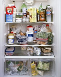 Looking Inside Peoples Fridges May Be The Weirdest Most Intimate Art Ever.