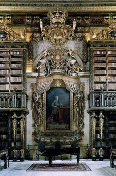 General Library at University of Coimbra — Coimbra, Portugal | Community Post: 49 Breathtaking Libraries From All Over The World