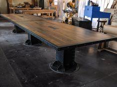 vintage industrial conference table | Vintage Industrial Furniture